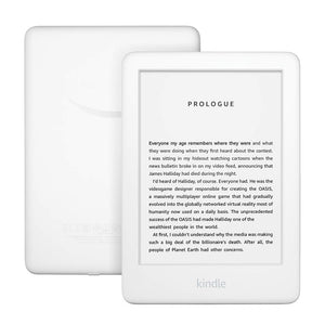 All new Kindle now with a built in front light