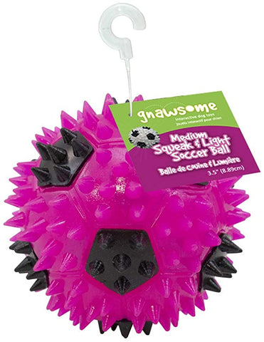 Gnawsome Squeak Light Soccer Ball