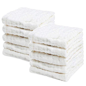 PPOGOO Washcloths Natural Purified Multipurpose