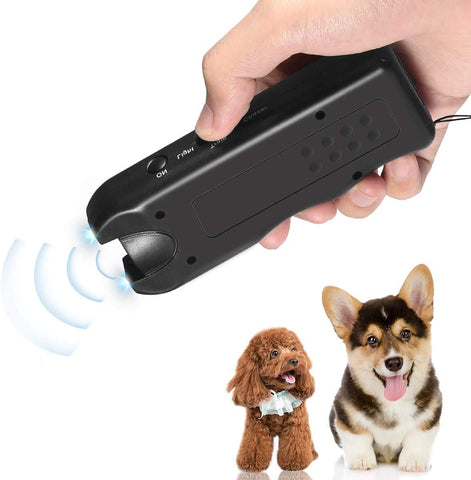 Handheld Repellent Ultrasonic Infrared Deterrent