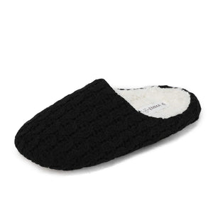 DREAM PAIRS Womens Knitted Slippers