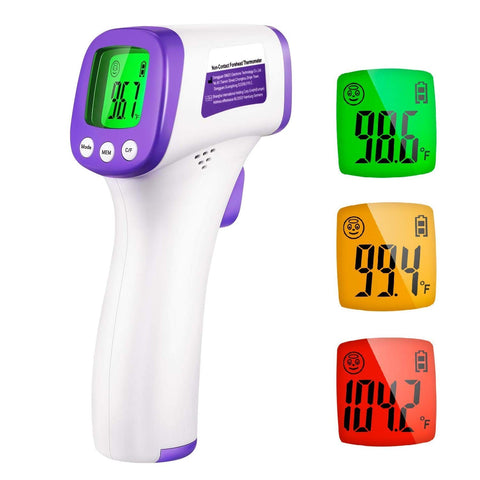Image of Thermometer Forhead Adjustable Function Hospital