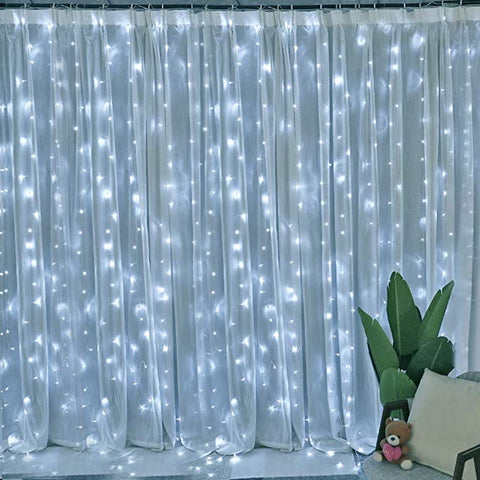 Lyhope Curtain Voltage Christmas Decoration