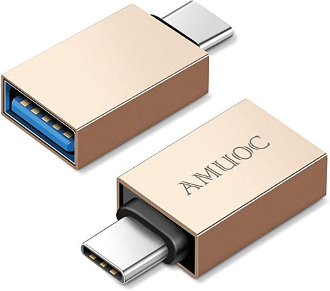 USB 3 0 Adapter(2 Pack) Gold