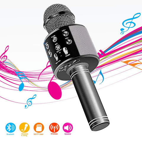 Bluetooth Microphone Compatible iOS,Perfect Christmas