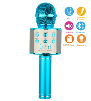 Christmas Touber Wireless Microphone Bluetooth