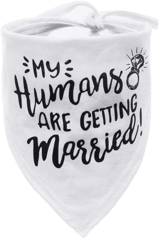 Humans Getting Married Bandana Wedding
