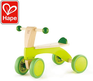 Hape Winning Wheeled Toddlers Rubberized