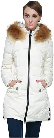 Orolay Womens Down Jacket Faux