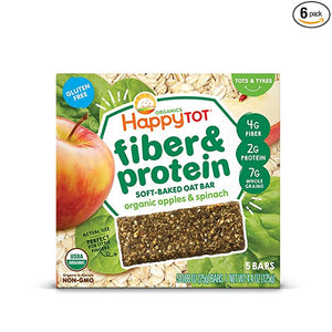 Happy Organic Protein Soft Baked Packaging