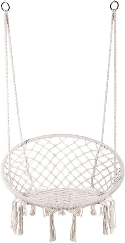 EVERKING Hammock Macrame Hanging Outdoor