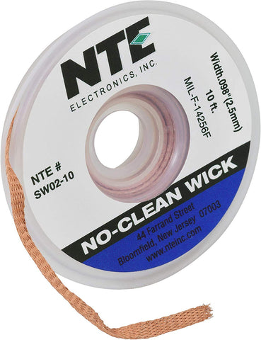 Image of NTE Electronics SW02 10 No Clean Blue 098