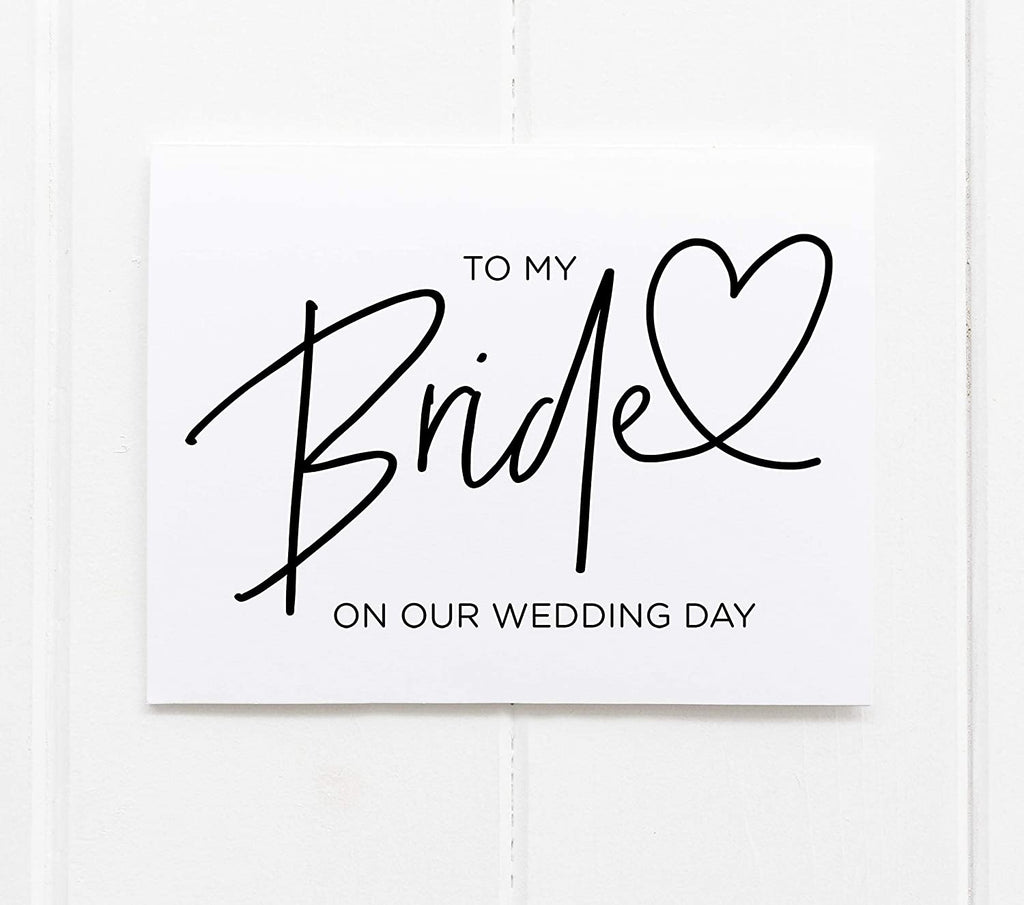 Bride Wedding Groom Black Modern