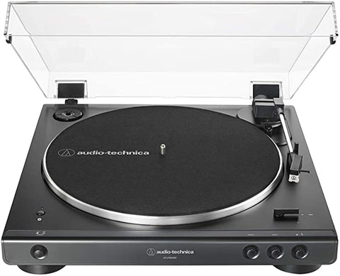 Audio Technica AT LP60XBT BK Belt Drive Hi Fidelity Anti Resonance