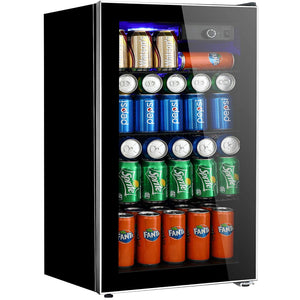 Beverage Refrigerator Cooler Removable Basements