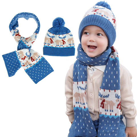 OhhGo Children Winter Knitted Warmer