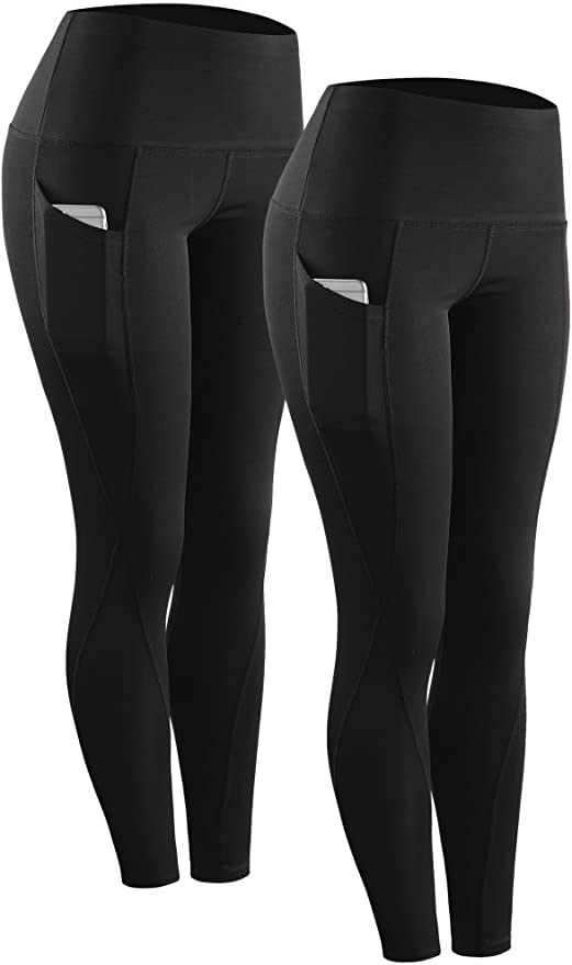 Neleus Running Workout Leggings Pockets