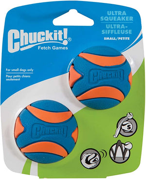 Chuckit Ultra Squeaker Bounce Orange