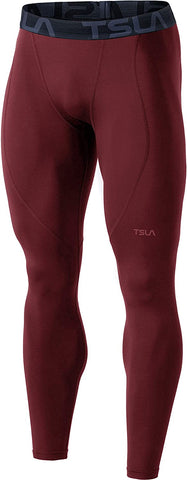 Image of TSLA Compression Athletic Leggings Wintergear