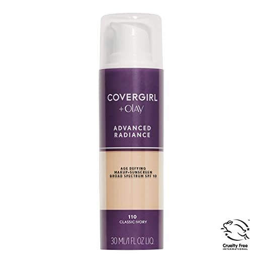 COVERGIRL Advanced Foundation Sensitive packaging