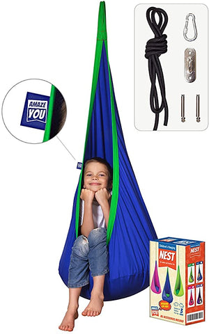 AMAZEYOU Kids Swing Hammock Chair