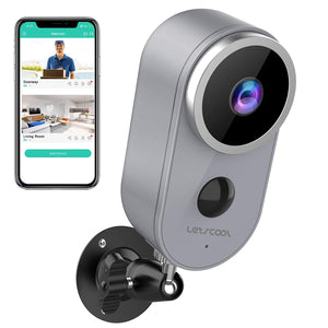 Wireless Camera Home Security Rechargeable