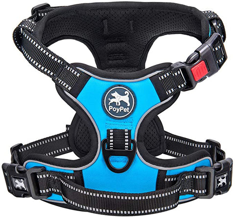 PoyPet Harness Reflective Comfortable Attachments