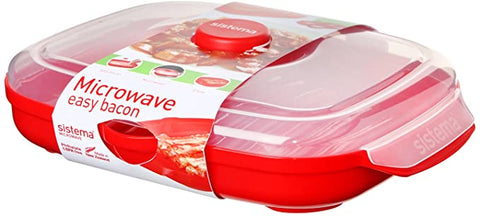 Sistema Microwave Easy Bacon Cooker