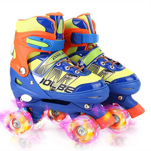 Otw Cool Adjustable Roller Skates Illuminating