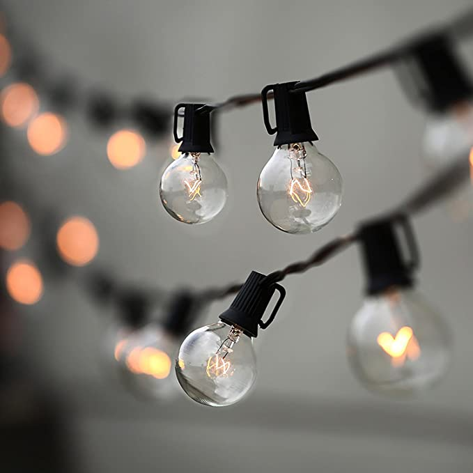 String Lights Bulbs UL Outdoor Commercial