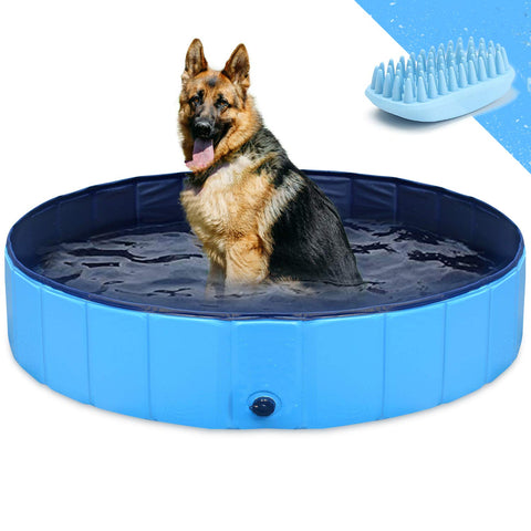 Image of GoStock Collapsible Bath Pool Folding Kiddie