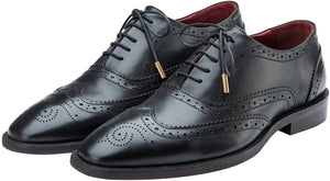 Lethato Wingtip Handcrafted Genuine Leather