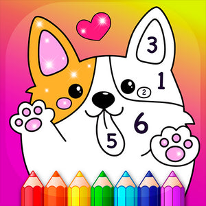 Coloring by Numbers for Kids