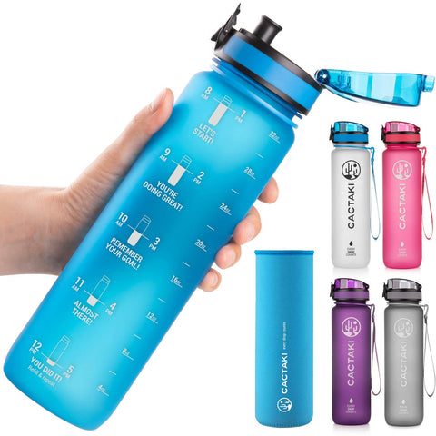 Cactaki Bottles Non Toxic Leakproof Durable