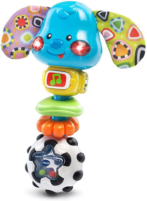 VTech Rattle Puppy Frustration Packaging