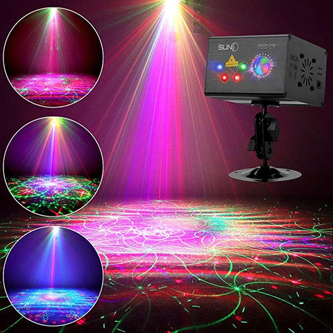SUNY Hardwired Activated Projector Decorative