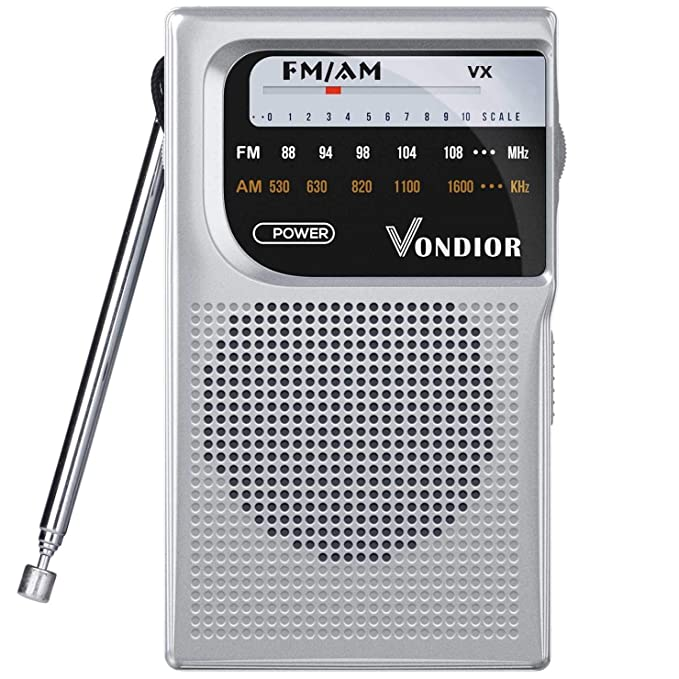 Battery Operated Portable Pocket Radio