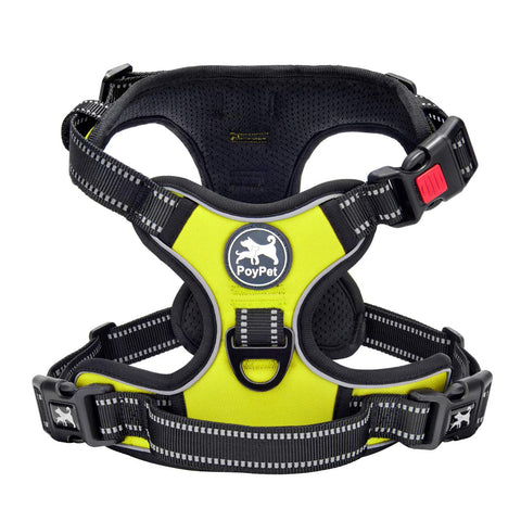 Image of PoyPet Harness Reflective Buckles Control