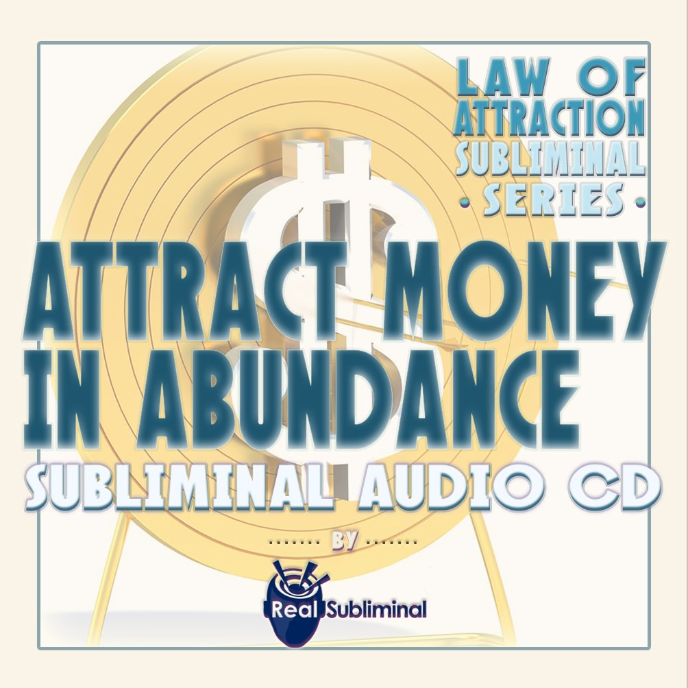 Attract Money Abundance Subliminal CD