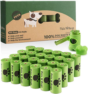 Bags Pets Biodegradable Unscented Dispenser
