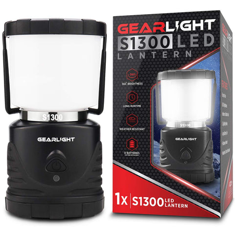 GearLight LED Camping Lantern S1300