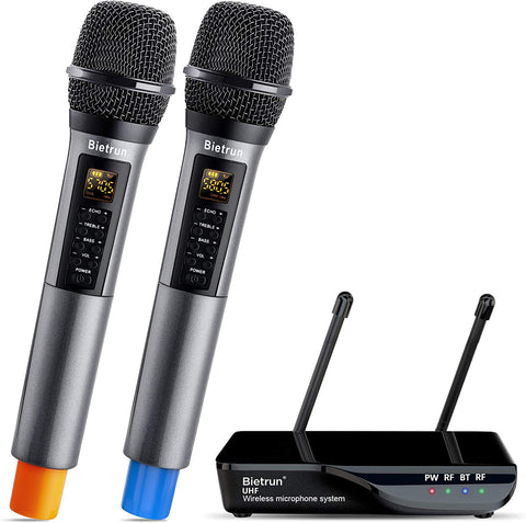 Wireless Microphone Bluetooth Portable Handheld
