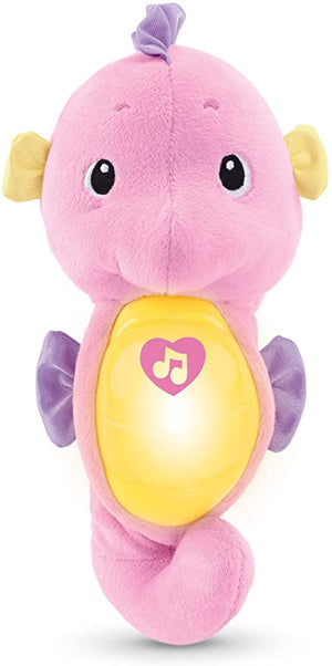 Fisher Price Soothe Glow Seahorse Pink