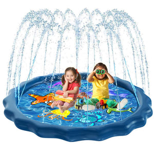 GUUKIN Sprinkler Inflatable Toddlers Backyard