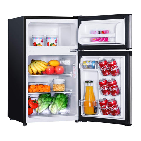TACKLIFE Refrigerator 3 1Cu Ft Stainless Apartment