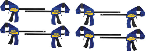 IRWIN QUICK GRIP Clamps One Handed 6 Inch