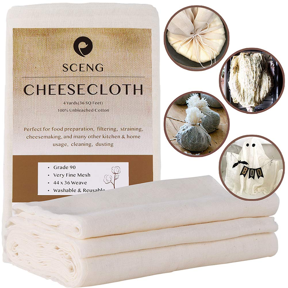 Cheesecloth Reusable Unbleached Cotton Cooking