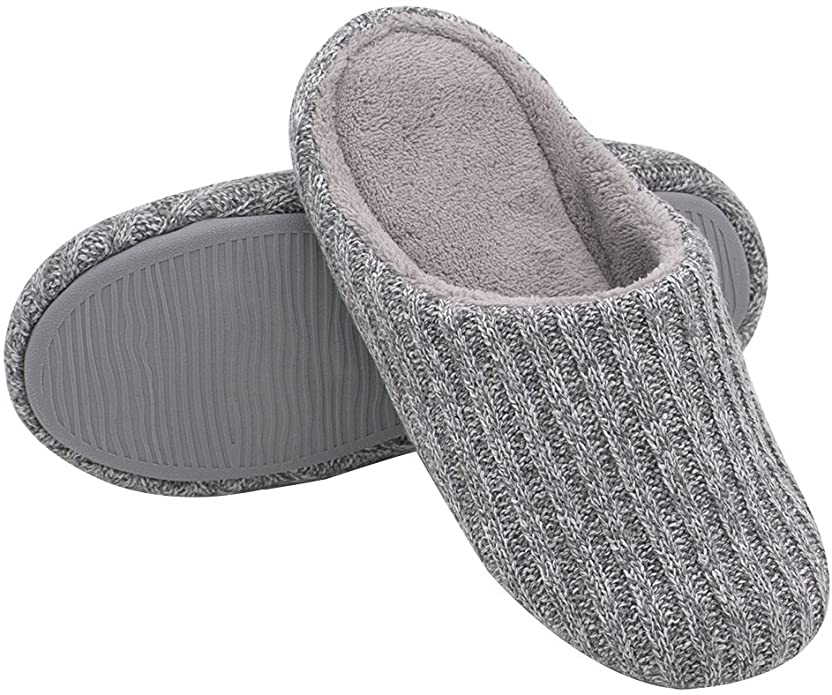 HomeIdeas Womens Cotton Slippers Outdoor