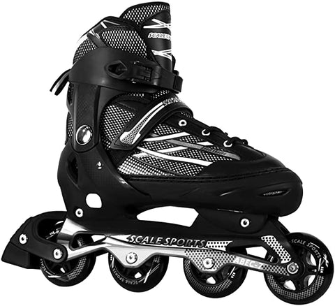 Scale Sports Adjustable Inline Skates