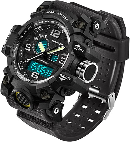 Military Electronic Waterproof Stopwatch Tactical